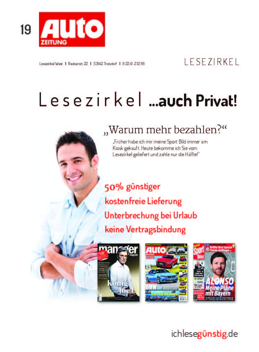 Autozeitung Cover Vorschlag